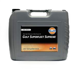 GULF SUPERFLEET Supreme 10W40 20л
